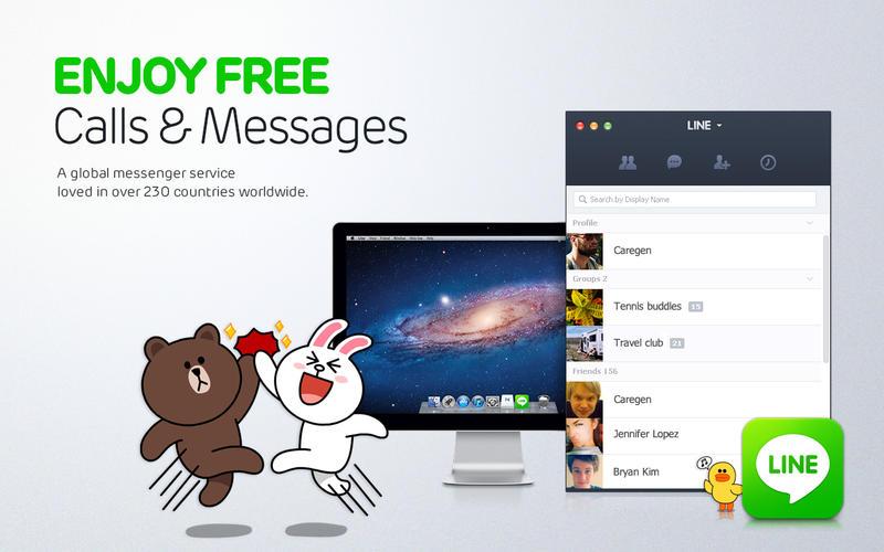 ดาวน์โหลดฟรี LINE PC ภาษาไทย